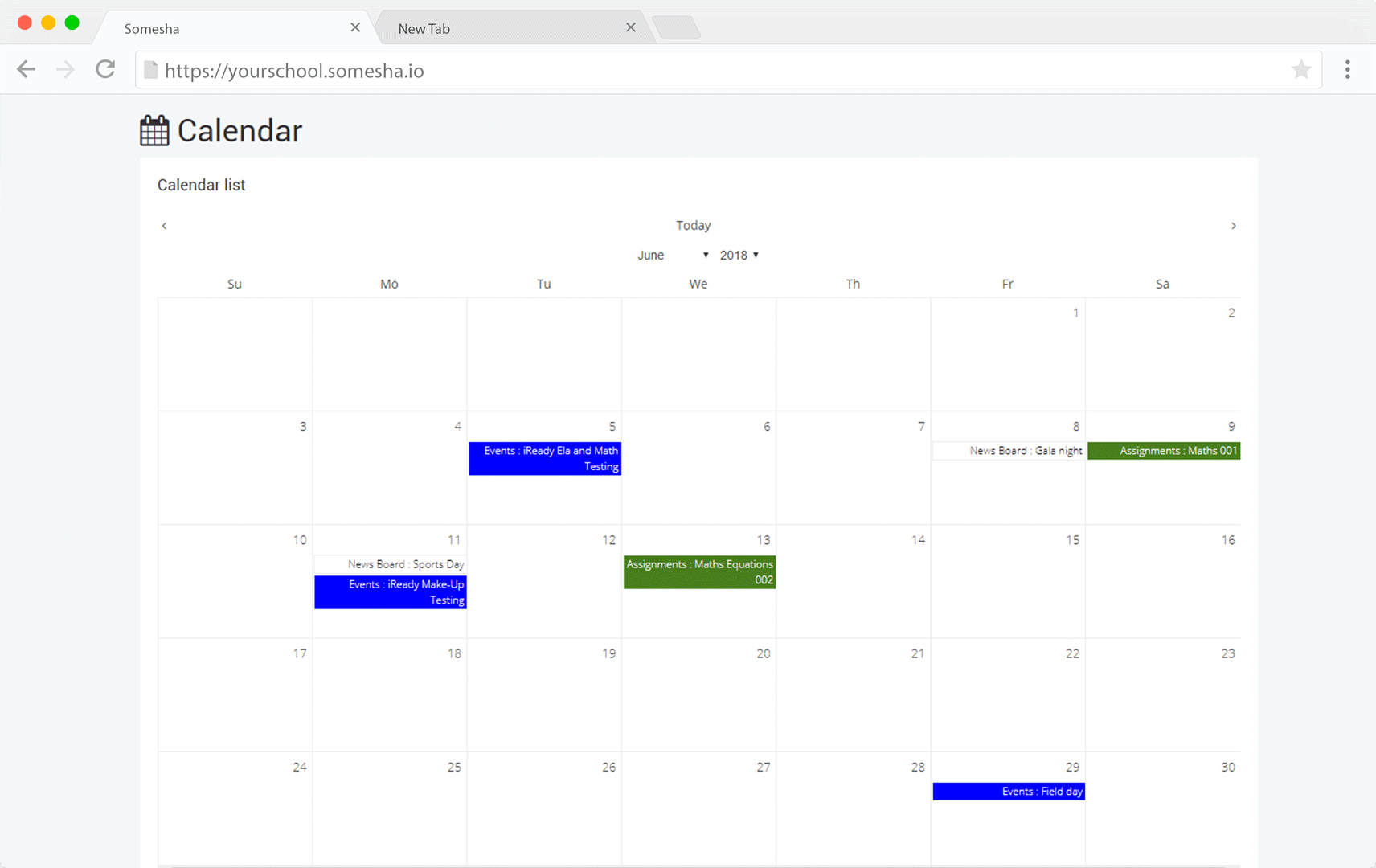 somesha-school-management-calendar