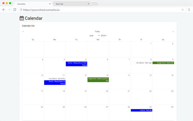 somesha-calendar